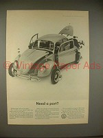 1965 Volkswagen VW Bug Beetle Car Ad - Need a Part?