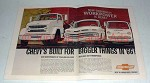 1966 Chevrolet 70000 & 80000 Series Truck Ad