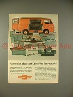 1965 Chevrolet Chevy-Van Ad - Customize Low-Cost