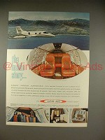 1966 Lear Jet Ad - The Inside Story!