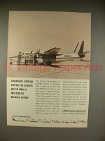 1966 Aero Commander Turbo Commander Plane Ad!