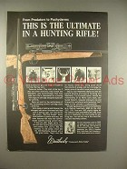 1966 Weatherby .224 Varmintmaster Rifle Ad
