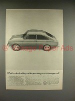 1966 Volkswagen VW Bug, Beetle Car Ad - Nice-Looking