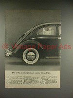 1966 Volkswagen VW Bug, Beetle Car Ad - Owning It