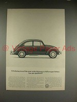 1966 Volkswagen VW Bug Beetle Car Ad - Radical Changes