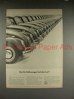 1966 Volkswagen VW Bug Beetle Ad, Has Fad Died Out?