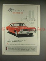 1966 Oldsmobile Jetstar 88 Car Ad - Go in the Red