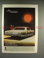 1966 Oldsmobile Delta 88 Holiday Sedan Car Ad!