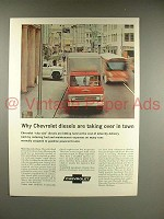 1966 Chevrolet Diesel Truck Ad - Taking Over Town
