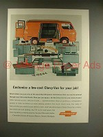 1966 Chevrolet Chevy-Van Ad - Customize Low-Cost