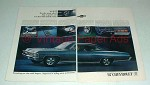 1967 Chevrolet SS 427 Sport Coupe Car Ad!