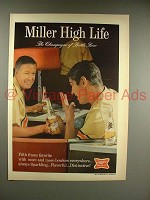 1967 Miller High Life Beer Ad - Bowling!