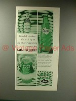 1967 Squirt Soda Ad - Whiskey Mini-Squirt
