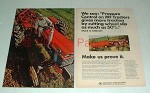 1967 Massey-Ferguson MF 175 Tractor Ad - More Traction