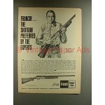 1967 Franchi Automatic Shotgun Ad - Preferred Experts