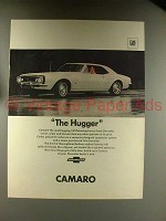1967 Chevy Camaro Sport Coupe Car Ad - The Hugger
