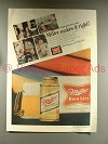 1968 Miller High Life Beer Ad - Makes it Right