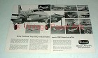 1968 Beechcraft King Air Plane Ad - Top Industrials Own