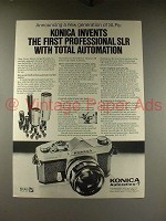 1968 Konica Autoreflex T Camera Ad - Total Automation