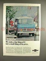 1969 Chevrolet Chevy-Van Truck Ad - Big Thing of It