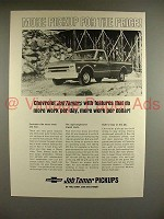1968 Chevrolet Pickup Truck Ad - More for the Price