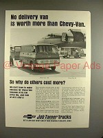 1968 Chevrolet Chevy-Van 108, 90 Truck Ad - Worth More