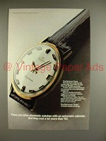 1969 Timex Electronic Watch Ad - Automatic Calendar!