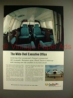 1969 Cessna 421 Plane Ad - Wide-Oval Executive Office