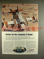 1969 Cessna 421 Plane Ad - Known By Company it Keeps