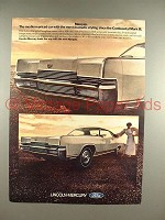 1969 Mercury Marquis Brougham Car Ad - Dramatic Styling