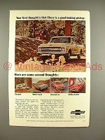 1969 Chevrolet Pickup Truck Ad - Good-Looking