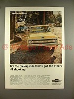 1969 Chevrolet Pickup Truck Ad - Others All Shook Up