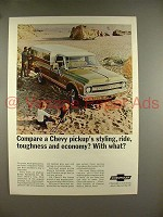 1969 Chevrolet Pickup Truck Ad - Compare? With What?