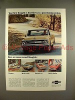 1969 Chevrolet Pickup Truck Ad - Your First Thought