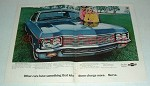1970 Chevrolet Impala Car Ad - Other Cars Charge More