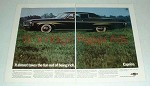 1969 Chevrolet Caprice Coupe Car Ad - Takes Fun Out