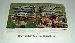 1970 Chevy Station Wagon Ad: Concours Nomad Kingswood +