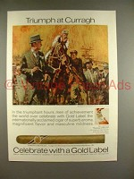 1970 Gold Label Corona de Ville Cigar Ad - Curragh