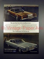 1970 Lincoln Continental & Continental Mark III Car Ad