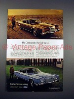 1970 Lincoln Continental & Continental Mark III Car Ad - Step Up