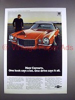 1970 Chevrolet Camaro Sport Coupe w/ Rally Sport Ad