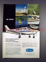 1971 Beechcraft Musketeer Plane Ad - Be There!