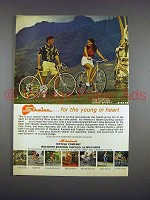 1971 Schwinn Super Sport Bike Ad - Young in Heart