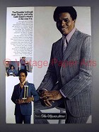 1971 Sears Traveller Knit Suit Ad w/ Gale Sayers!