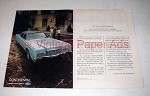 1972 Lincoln Continental Car Ad - How It Looks in Your Driveway!