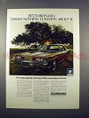 1972 Oldsmobile Toronado Car Ad - There's Nothing Common!