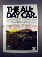 1971 Chevrolet Vega Car Ad - The All Day Car