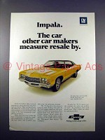 1971 Chevrolet Impala Car Ad - Other Car Makers