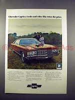 1972 Chevrolet Caprice Ad - Rides Like Twice the Price!