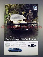 1971 Cheverolet Caprice Car Ad - You've Changed
